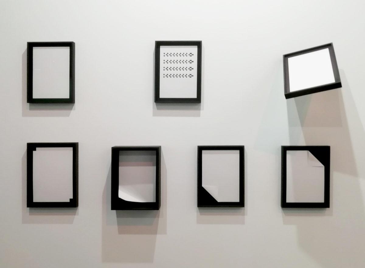"""Instalación de """"Document"""" en Feria ARCO 2019, Madrid."""