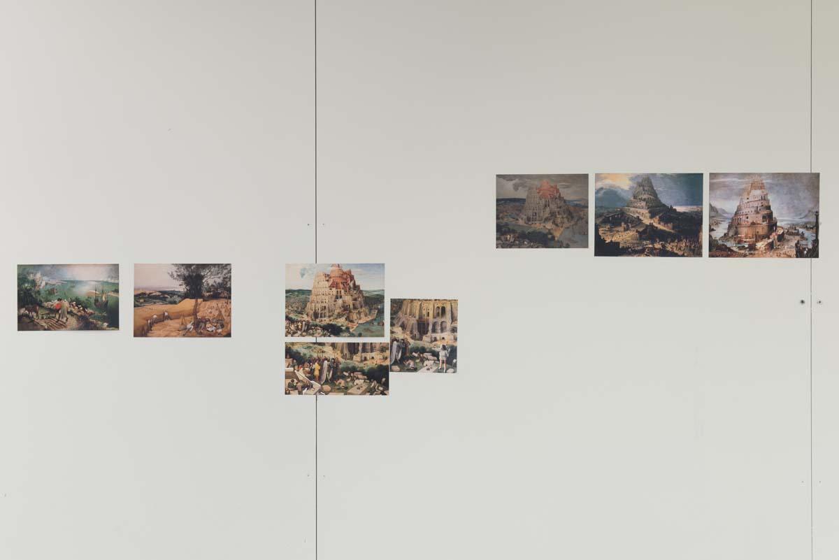 Història de la representació gràfica de la torre. Foto: Roberto Ruíz.