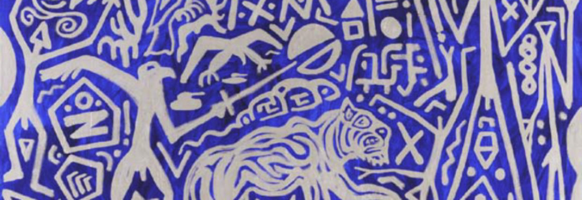 "A. R. Penck, ""Irrationale Welt"" (2005)"